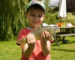 Harry's First Catch