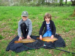Summer Fishing School at West Pitt Farm!