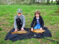 Summer Fishing School at West Pitt Farm!